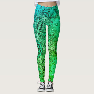 St. Pattys day Green Beer Leggings