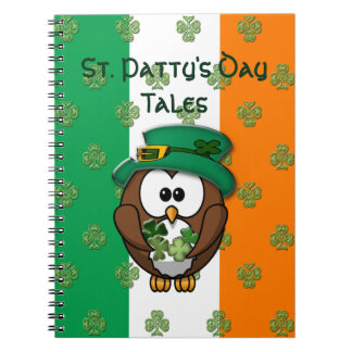 St. Patty's Day Spiral Note Book