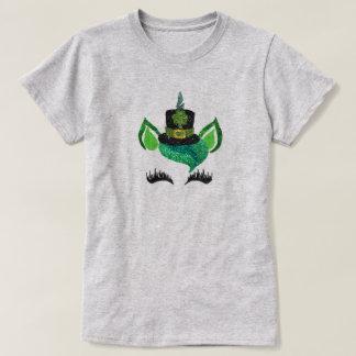 St. Patty's Glitter Leprechaun Unicorn Shirt