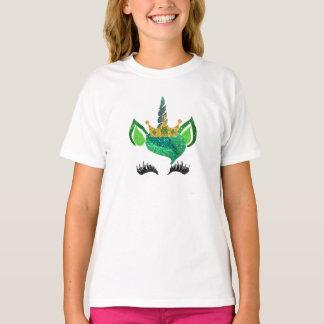 St. Patty's Glitter Unicorn Shirt