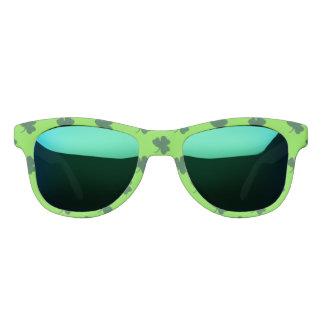 St. Patty's Lucky Charm Design Sunglasses