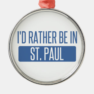 St. Paul Metal Ornament