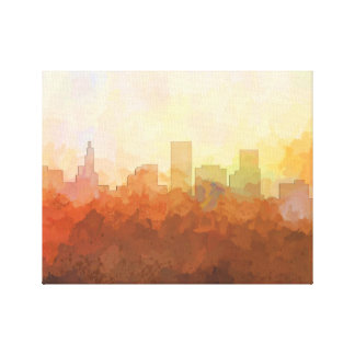 ST PAUL, MINNESOTA SKYLINE-In the Clouds Canvas