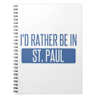 St. Paul Spiral Notebook