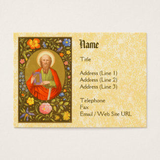 St. Paul the Apostle (PM 06) Business Card