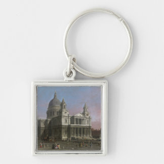 St. Paul's Cathedral, 1754 (oil on canvas) Keychain