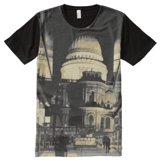 St Pauls Cathedral All-Over-Print T-Shirt
