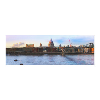 St Pauls Cathedral Panorama Canvas Print