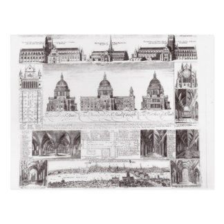 St. Paul's Cathedral Postcard