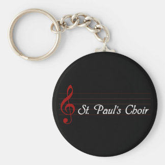 St. Paul's Choir Keychain