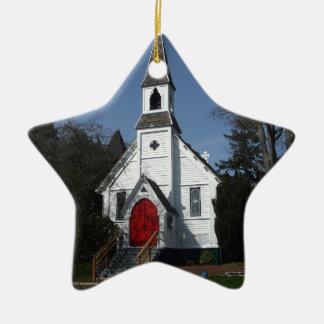 St. Paul's Church Ceramic Ornament