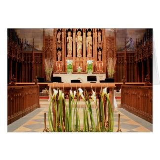 St. Paul's Church Chestnut Hill Easter Card