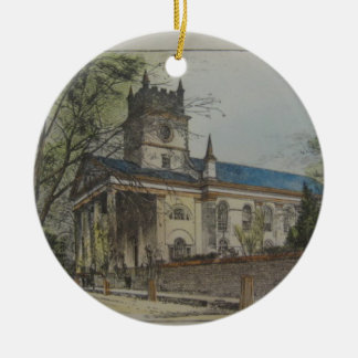 St. Paul's Episcopal Church, Charleston, SC Ceramic Ornament