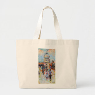 St Paul's from the Millennium Bridge Jumbo Tote Bag