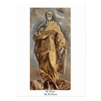 St. Peter By El Greco Postcard
