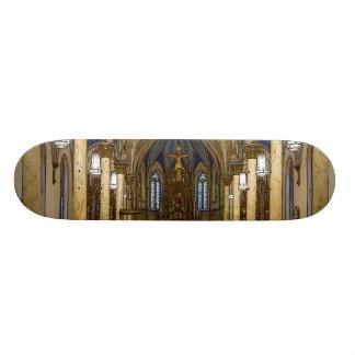 St Peter Catholic Church Painterly Custom Skate Board