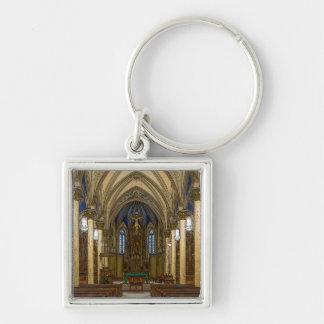 St Peter Catholic Church Painterly Keychain