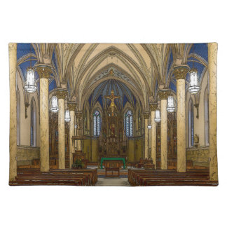 St Peter Catholic Church Painterly Placemat
