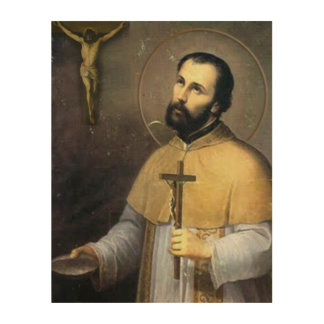 St. Peter Claver Wood Canvas