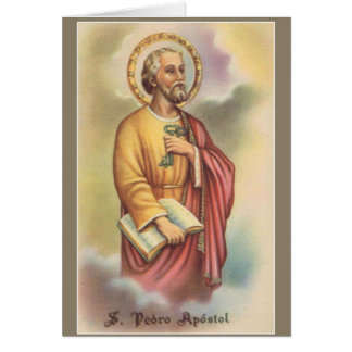St. Peter the Apostle First Pope Card