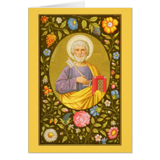 St. Peter the Apostle (PM 07) Custom Blank Card #1
