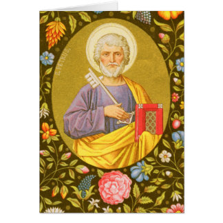 St. Peter the Apostle (PM 07) Custom Blank Card #2