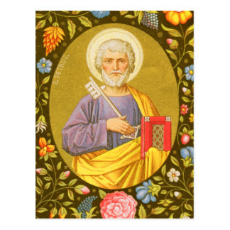 St. Peter the Apostle (PM 07) Postcard #2