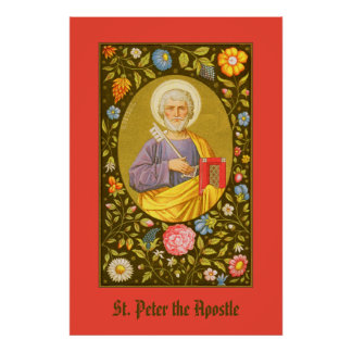 St. Peter the Apostle (PM 07) Poster #1