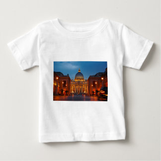 St. Peter's Basilica in Rome - Italy Baby T-Shirt