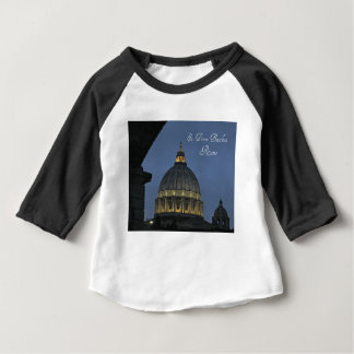 St. Peter's Basilica, Rome, Italy Baby T-Shirt