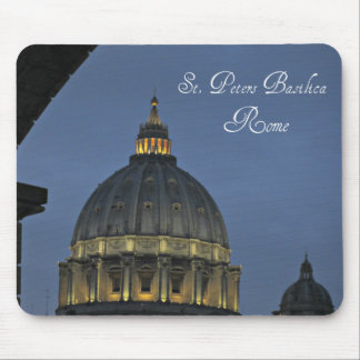 St. Peter's Basilica, Rome, Italy Mouse Pad