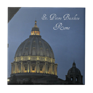 St. Peter's Basilica, Rome, Italy Tile