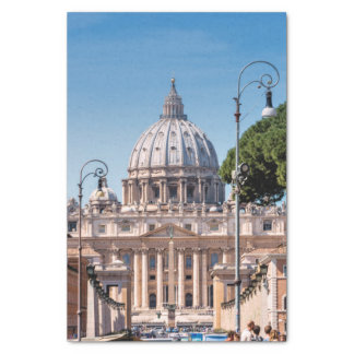 St. Peter's Basilica Tissue Paper