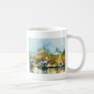St. Peters Basilica Vatican in Rome Italy Coffee Mug