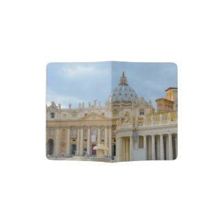 St. Peters Basilica Vatican in Rome Italy Passport Holder