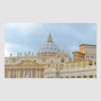 St. Peters Basilica Vatican in Rome Italy Sticker