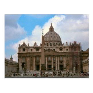 St Peter's Basilica, Vatican Postcard