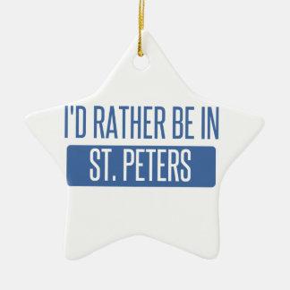 St. Peters Ceramic Ornament