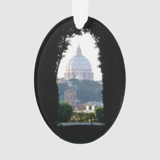 St Peter's dome, keyhole view Ornament