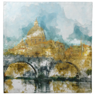 St. Peter's in Vatican City Rome Italy Napkin