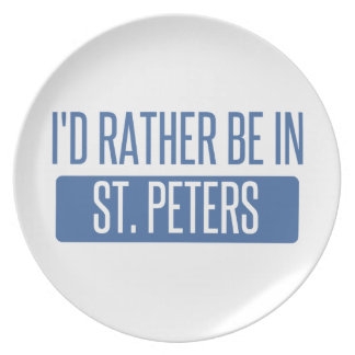 St. Peters Plate