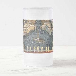 St. Peter's Square, Frosted Glass Mug