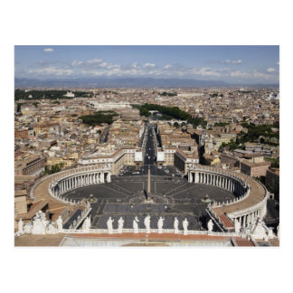 St Peters Square, Rome Postcard