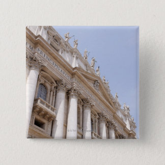 St Peter's Square, Vatican City, Rome, Italy 2 Inch Square Button