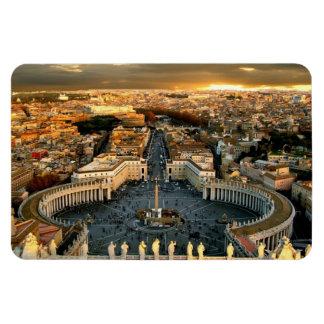 St Peter's Square Vatican Magnet