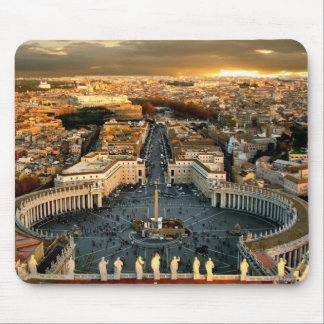 St Peter's Square Vatican Mouse Pads