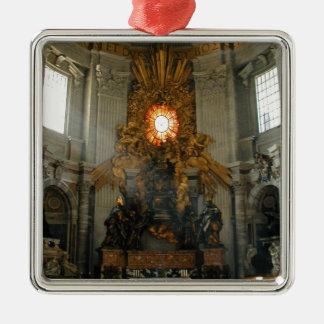 St. Peter's Vatican City Metal Ornament