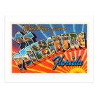 St Petersburg Florida FL Vintage Travel Souvenir Postcard