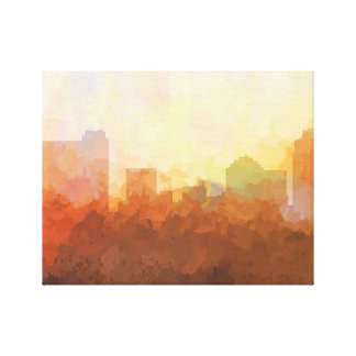 ST PETERSBURG,FLORIDA SKYLINE-In the Clouds Canvas