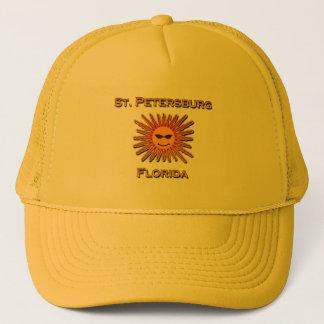 St. Petersburg Florida Sun Logo Trucker Hat